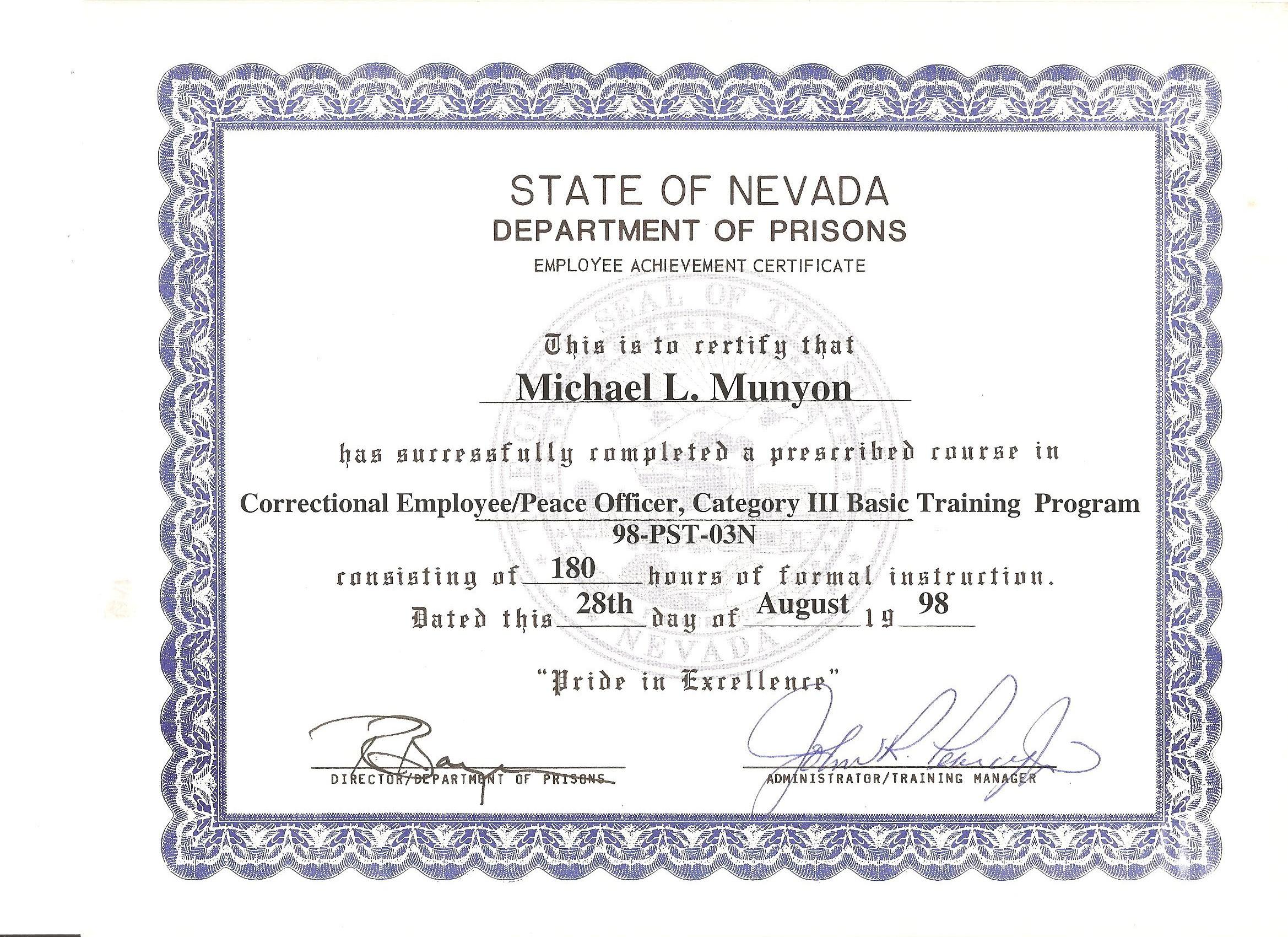 Credentials – Munyon\'s Korean Martial Arts Academy